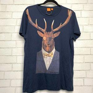 Hugo Boss Casual Graphic Fancy Elk T-Shirt M
